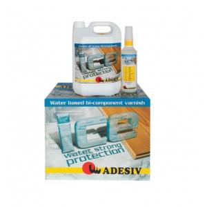 ADESIV Ice двокомпонентний лак для паркету на водяній основі