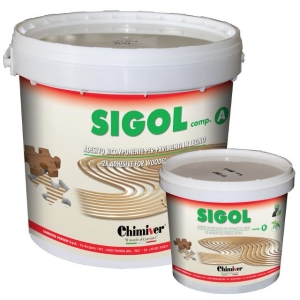 Sigol - Двохкомпонентний клей для паркету